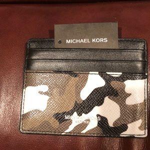 New Michael Kors Kent card Case